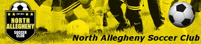 North Allegheny Soccer Club banner